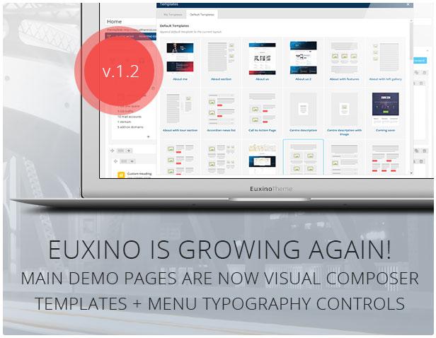 Euxino - Advanced Multi-Purpose WordPress Theme
