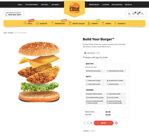 Lafka - WooCommerce Theme for Burger & Pizza Delivery - 6