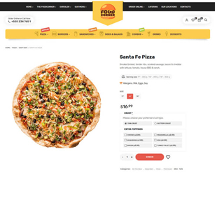 Lafka - WooCommerce Theme for Burger & Pizza Delivery - 5