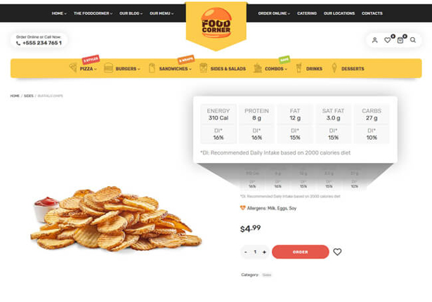 Lafka - WooCommerce Theme for Burger & Pizza Delivery - 7
