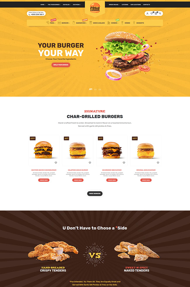 Lafka - WooCommerce Theme for Burger - Pizza & Food Delivery - 9