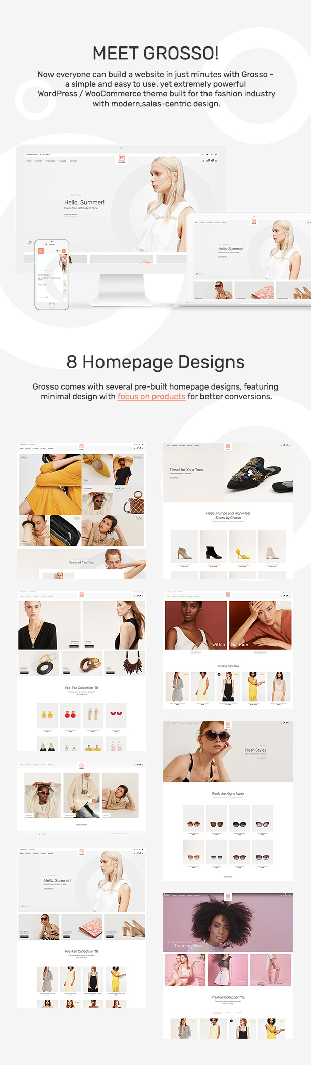 Grosso Fashion - Modern WooCommerce theme for the Fashion Industry - 4
