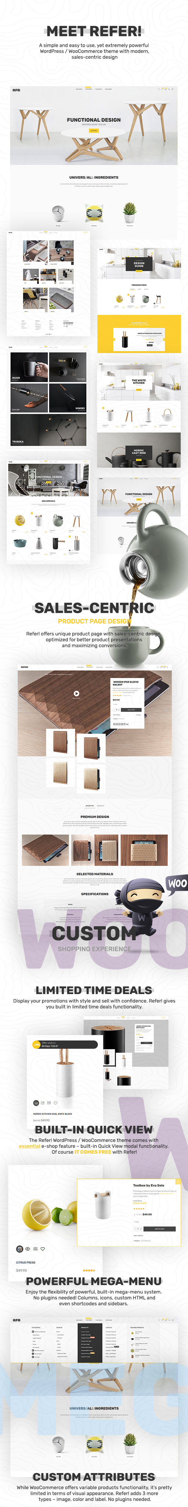 Refer - Premium WooCommerce Theme - 3
