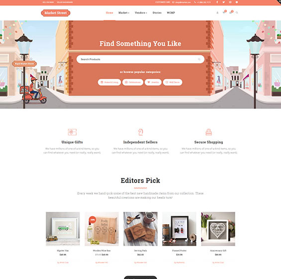 Rigid Multi Vendor Theme 2