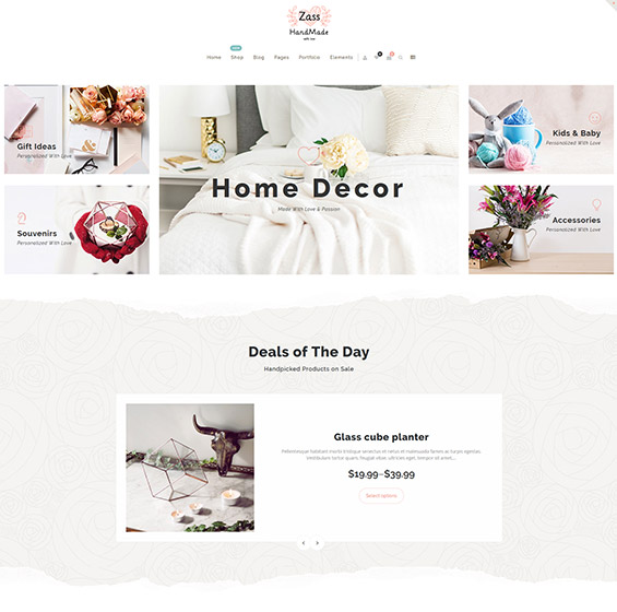 Zass theme for handmade artists 2