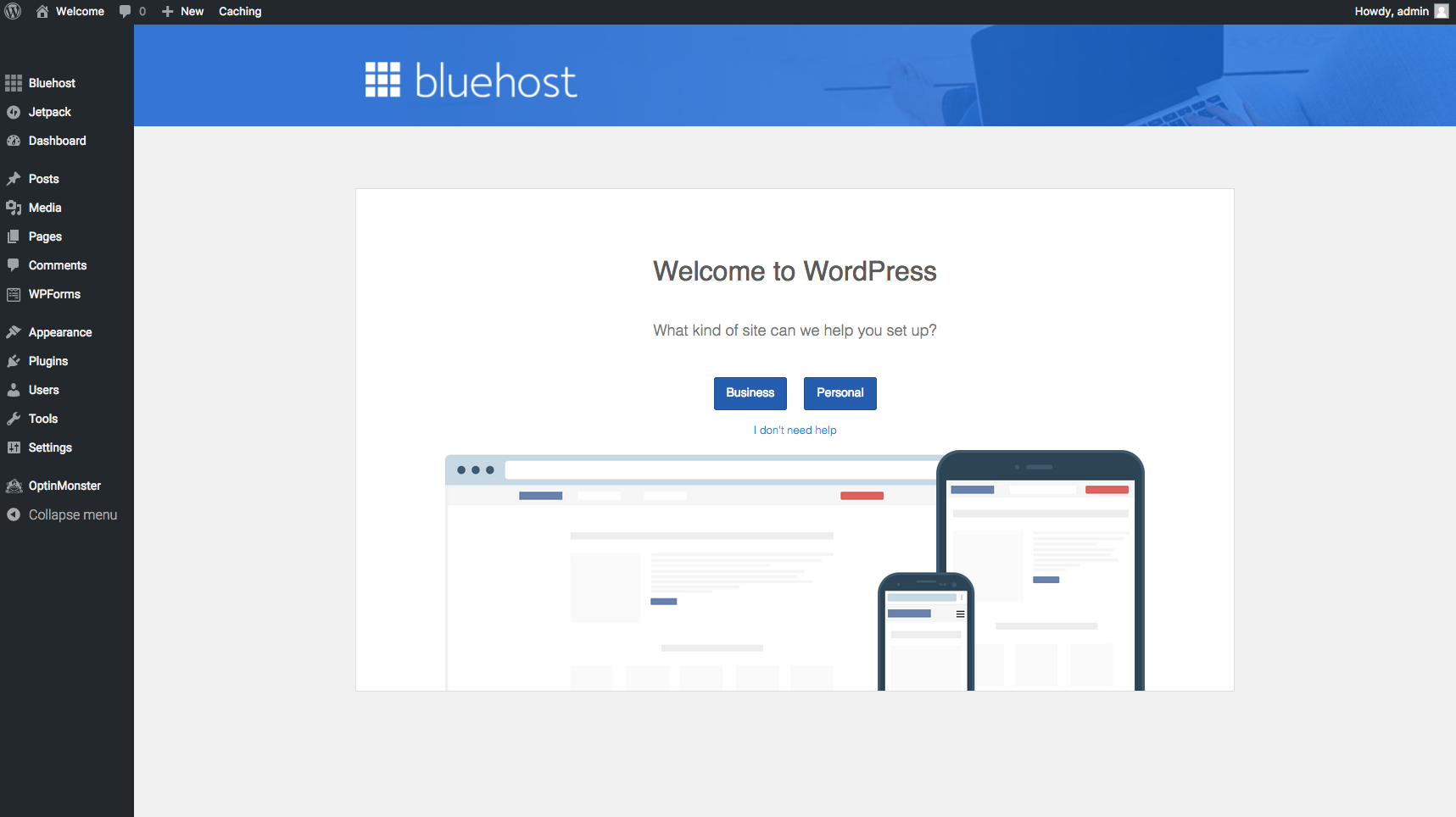 Bluehost Pick Theme3